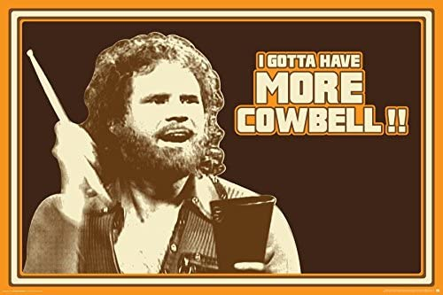 Saturday Cowbell Ferrell Comedy Sketch product image