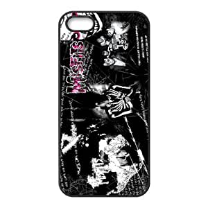 CTSLR Band The Misfits Hard Case Cover Skin for Apple iPhone 5/5s- 1 Pack - Black/White - 5 by mcsharks