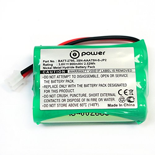 T-Power ( TM ) Motorola Baby Monitors Battery TFL3X44AAA900 CB94-01A (Parent unit) Replacement Rechargeable Battery (3.6V NIMH 900Mah)