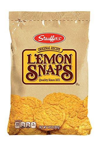 Stauffer Cookie Lemon Snaps Original 14 ()