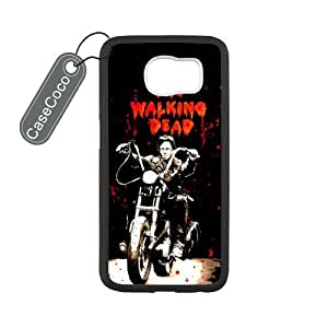 The Walking Dead Daryl Custom Hard Plastic & Rubber Case for Samsung Galaxy S6 - Galaxy S6 Case Cover wangjiang maoyi