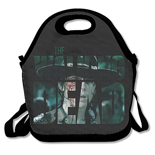 The Walking Dead Lunch Bag Lunch Tote, Waterproof Outdoor Travel Picnic Lunch Box Bag Tote With Zipper And Adjustable Crossbody Strap