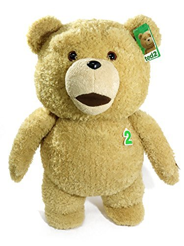 TED / TED2 (Ted / Ted 2) 24 inches Talking plush EXPLICIT 60cm life-size stuffed animals speak [parallel import goods] (Ted 24 Inch Talking Plush Teddy Bear)