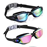 Aegend 2 Pack Swim Goggles