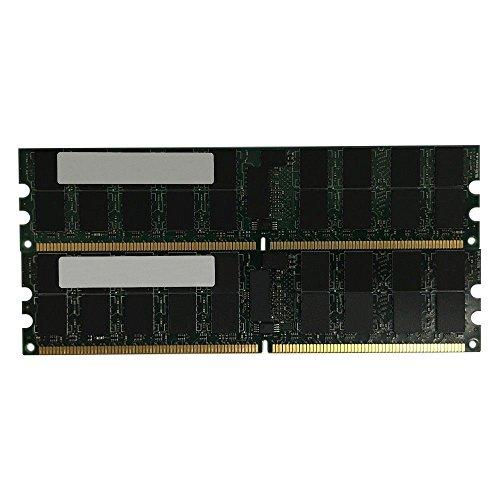 HP 16GB(2 X 8GB) Kit 8GB 2RX4 PC3-10600R 1333MHz DDR3 SDRAM Memory Module For Proliant DL320 G6 DL360 G6 DL360 G7 DL370 G6 DL380 (Ecc Sdram Dimm Module)
