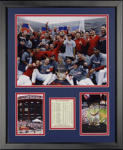 (Legends Never Die 2006 St. Louis Cardinals Locker Room Framed Photo Collage, 16