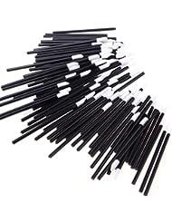 200 PCS Disposable Lip Brushes Lipstick Gloss Wands Applicator Makeup Tool Kits