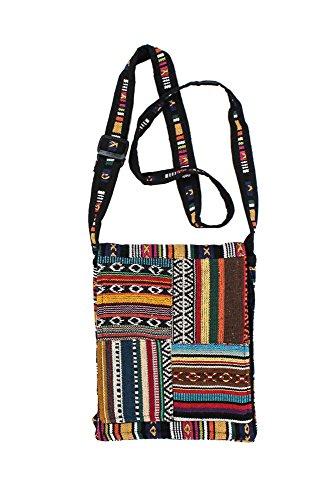 Adjustable Tribal Crossbody or Hand Carry Bag