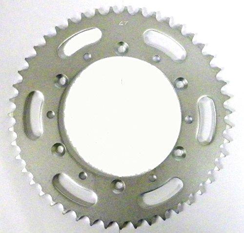 Kawasaki Steel Rear Sprocket Moto-X KX 125 1985-2005/ KDX 200 1985-2006/ KDX 220 1997-2005/ KDX 250 1991-1994 47 Teeth (220 Tooth)