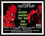 Children Shouldn't Play With Dead Things Poster Movie Half Sheet B 22 x 28 Inches - 56cm x 72cm Alan Ormsby Valerie Mamches Jeff Gillen Anya Ormsby Paul Cronin Jane Daly
