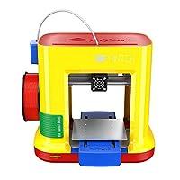"da Vinci miniMaker 3D Printer ~ 6""x6""x6"" Built Volume (Includes: $14 300g PLA Filament, 49 3D Design eBook, 10 Maintenance Tools, XYZmaker CAD 3D Software, PLA/Tough PLA/PETG/ Antibacterial PLA) by XYZprinting, Inc. (US Toys)"