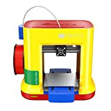 da Vinci miniMaker 3D Printer ~ 6'x6'x6' Built Volume (Includes: $14 300g PLA Filament, 49 3D Design eBook, 10 Maintenance Tools, XYZmaker CAD 3D Software, PLA/Tough PLA/PETG)