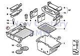 BMW Genuine Storage Tray Center Console Cup Holder Black X5 3.0si X5 3.5d X5 4.8i X5 M X5 35dX X5 35iX X5 50iX X6 35iX X6 50iX X6 M Hybrid X6