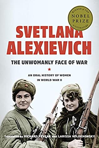 book cover of The Unwomanly Face of War