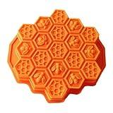 Kyпить Wholeport Honeycomb Cake Molds for Kids 17-Hole Silicone Baking Cake Mold Bakeware на Amazon.com