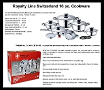 Royalty 16 Piece Renaissance Gourmet Cookware Set