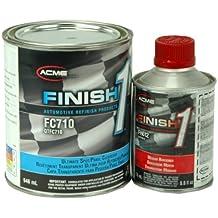 Finish 1 2K Urethane Automotive Clear Coat: 32 oz. Quart Clear Coat + 8 oz. Activator