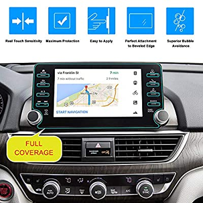J&D Compatible for Honda Accord Car Navigation Screen Protector, 1-Pack Premium HD Clear Film Shield Honda Accord 2020 2020 2020 Crystal Clear Screen Protector for EX EX-L Touring: MP3 Players & Accessories