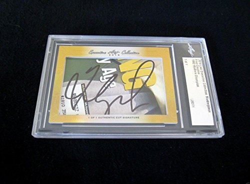 af Masterpiece Cut Signature signed auto golf card 1/1 - JSA Certified - Golf Cut Signatures ()