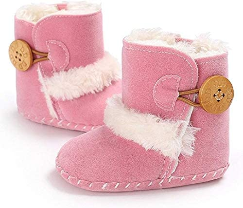 Meeshine Winter Warm Baby Boots Premium Soft Sole Prewalker Newborn Infant Boy Girl Crib Shoes Snow Boots