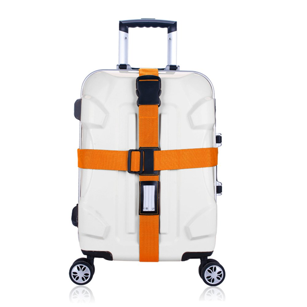 Colorpole Safety Luggage Strap Adjustable Lock Suitcase Belt 68 Inch
