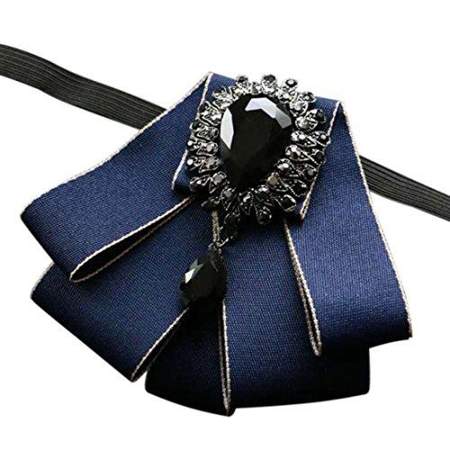 Men's Wedding 6 colors Bow Tie Crystal Rhinestone accessories Women Party necktie -