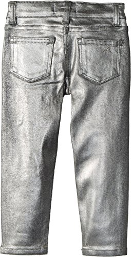 DL1961 Kids Baby Girl's Chloe Skinny Jeans in Silverado (Toddler/Little Kids) Silverado 3T by DL1961 Kids (Image #1)