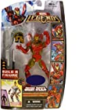 Marvel Legends Exclusive Ares Build-A-Figure Wave Action Figure Heroes Reborn Iron Man (Jim Lee)