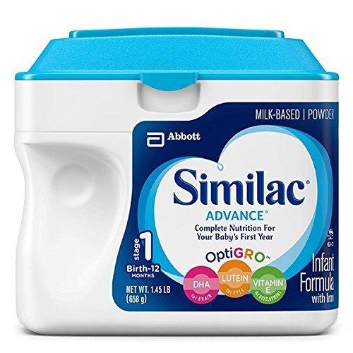 Similac Advance Infant Formula with Iron, Stage 1 Powder, 23.2 Ounces