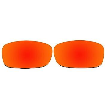 acompatible Ersatzgläser für Oakley Style Switch Sonnenbrille OO9194, Titanium Mirror - Polarized