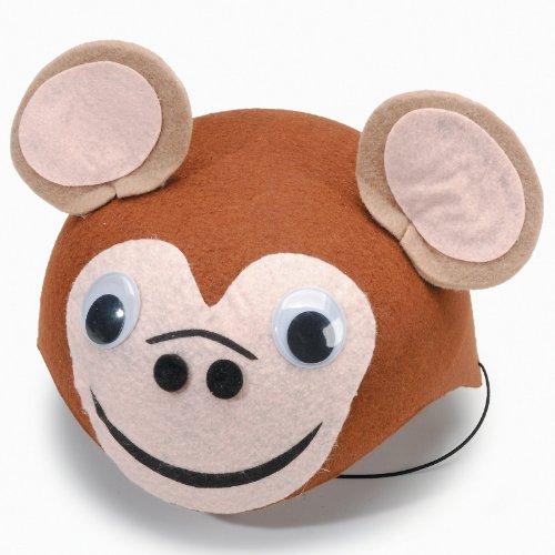 [Monkey Felt Hat] (Monkey Felt Hat)