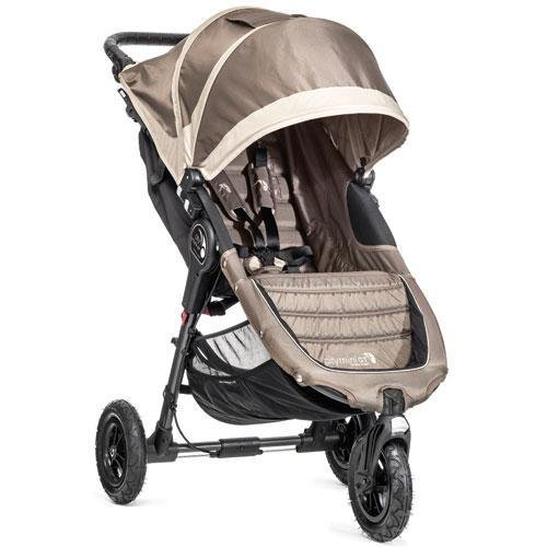 y Mini GT Single Stroller, Sand/Stone (Recliner Stone)