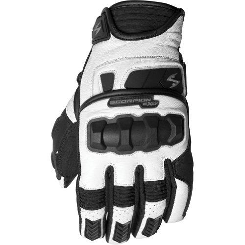 Scorpion Klaw II Men's Leather Street Motorcycle Gloves - White / X-Large (Scorpion Klaw Gloves)