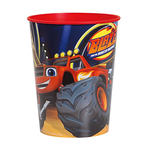 16oz Blaze and the Monster Machines Plastic Cup -