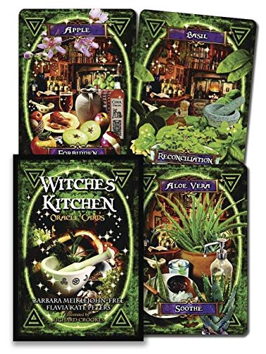 Free Oracle Cards - Witches' Kitchen Oracle Cards