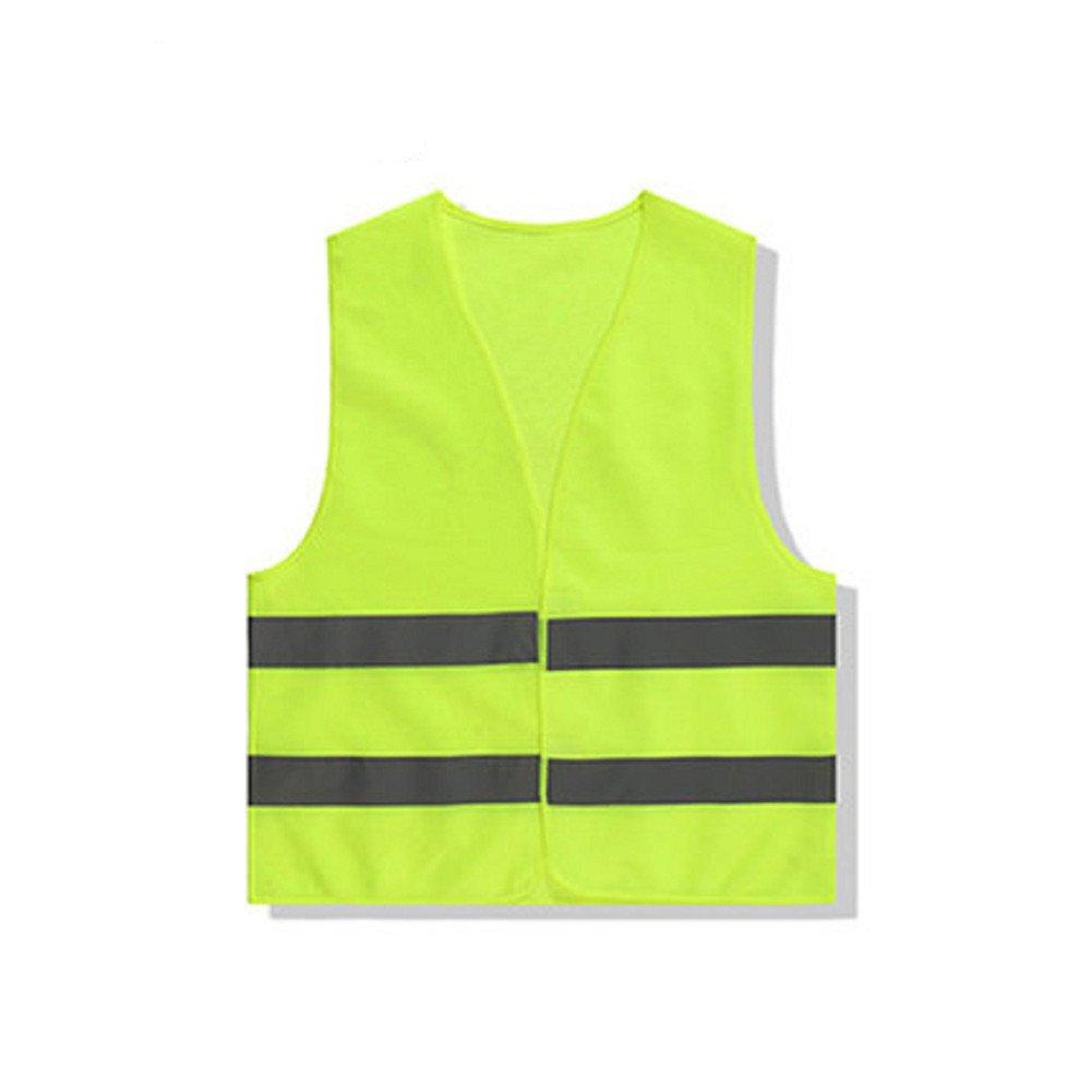 cosanter 1pezzi gilet ad alta visibilità Gilet di Incidente D' Auto Panne Gilet di sicurezza Neon giallo per Cleaners giardino lavoratori sani Dock Special Abbigliamento Da Lavoro UIQZ094158V65YW89