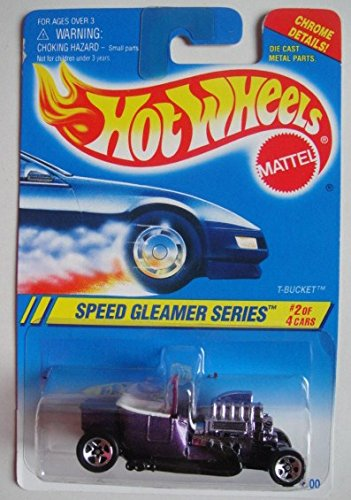 HOT WHEELS SPEED GLEAMER SERIES #2 OF 4 CARS PURPLE, used for sale  Delivered anywhere in USA