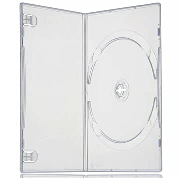 Four Square Media - Caja para DVD individual (7 mm, 50 unidades ...