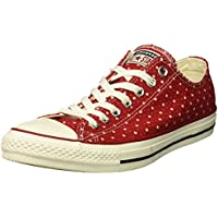 Converse Unisex Chuck Taylor Perforated Stars Low Top Sneaker