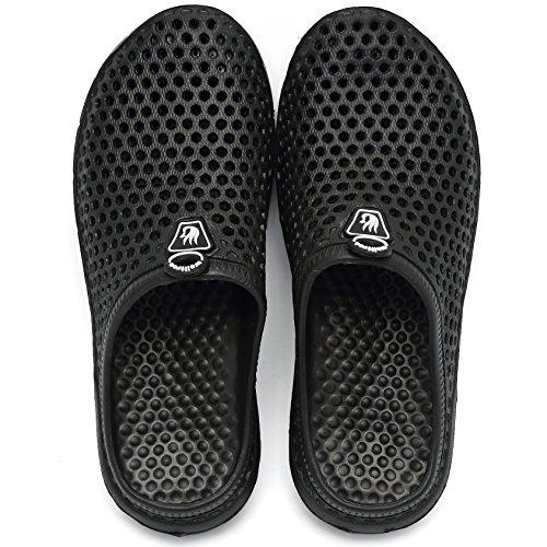 Slippers Garden welltree 2 Mens Unisex Clog Womens Drying Black Shoes Quick Sandals qqw48HC