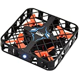 Lifbeier Mini RC Quadcopter Drone 2.4G 4CH 6-Axis Gyro with 3D 360 Degree Flip Roll and One Key Return, Remote Controller with Extra Battery
