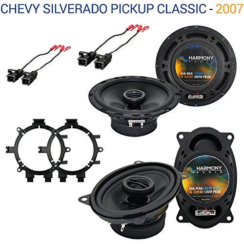 Chevy Silverado Pickup Classic 2007 OEM Speaker Upgrade H...