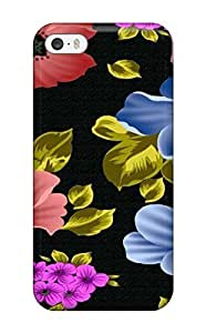 New Arrival Pretty Red And Blue Flowers MSvxpHI16 4.7270xvuFY Case Cover/ 6 4.7 Iphone Case(3D PC Soft Case)