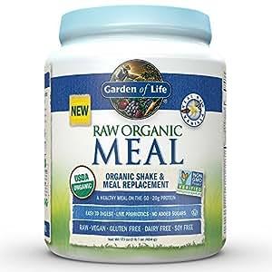 Raw vegan meal replacement