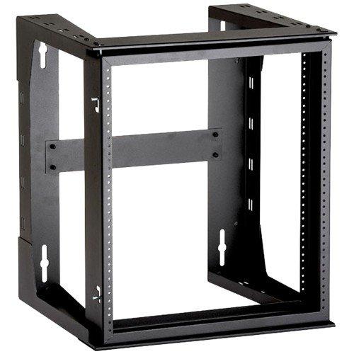 Black Box Rm070a-r3 Wallmount Rack Frame - 12u Wide - Black - 34.02 Kg X Maximum Weight Capacity