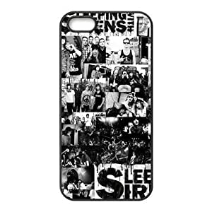 Painted Sleeping with Sirens TPU Hard back phone Case cover iPhone 5s 5