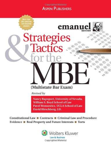 Strategies & Tactics for MBE 2008