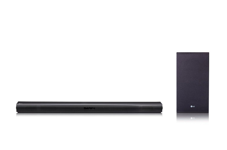 LG SJ4 Barra de sonido (Subwoofer inalámbrico, Bluetooth), Negro