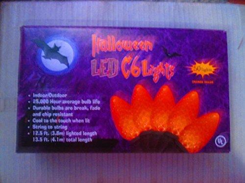 50-orange-halloween-led-c6-lights
