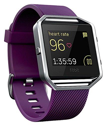 Fitbit Blaze, Reloj inteligente y monitor de actividad color morado, c
